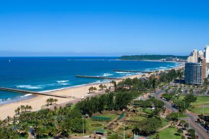 Imágenes de Durban, costa índica de Sudáfrica.- El Muni.