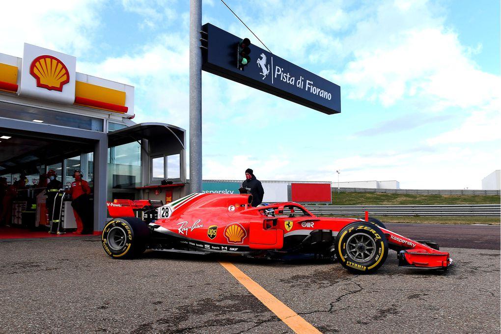 Source - Ferrari : Giuliano Alesi a également repris le numéro 28 de son père