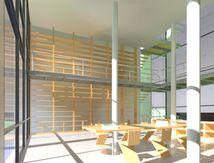 Bibliothèque privée à Einsiedeln - Suisse - projet