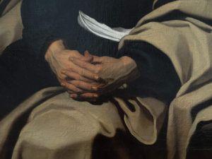 huile sur toile - 1,45x1,09 m - composition a succès qui a connu plusieurs répliques et copies