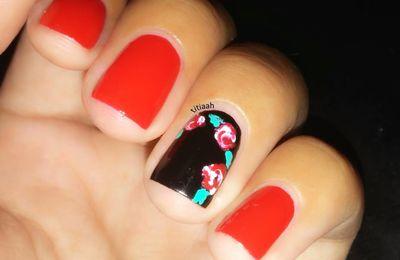 Nailstorming : les fleurs