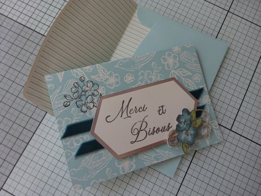 [Stampin'Up!®] Bisous de Shelli: 4 exemples de cartes