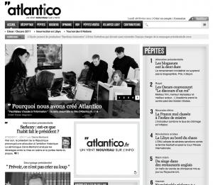 L'aventure Atlantico démarre aujourd'hui