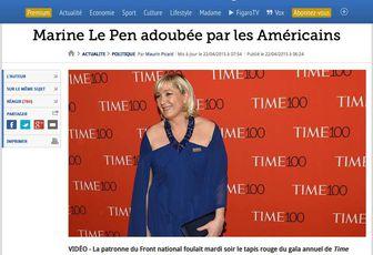 Marine Le Pen marionetta americana - di Jules Previ