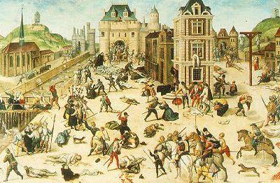 Artistes et guerres de religion