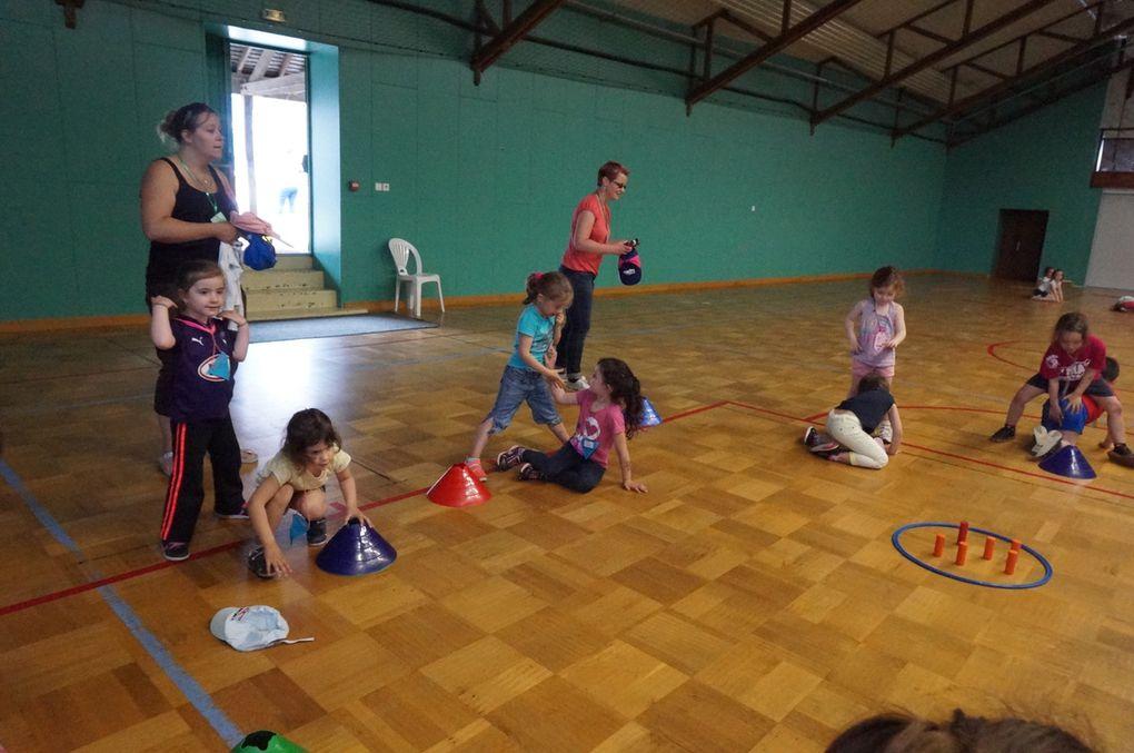 Rencontre sportive des MS-GS à l'école d'Argentré