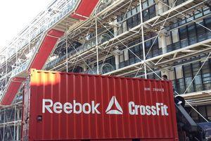 REEBOK pop up store pour une Crossfit experience .. sur le parvis Beaubourg le 13 mars.