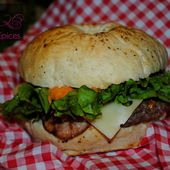 Bacon Baps Burger - Graine d'Epices