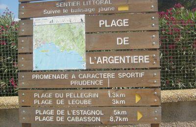sentier du littoral (2) Argentiére - brégançon