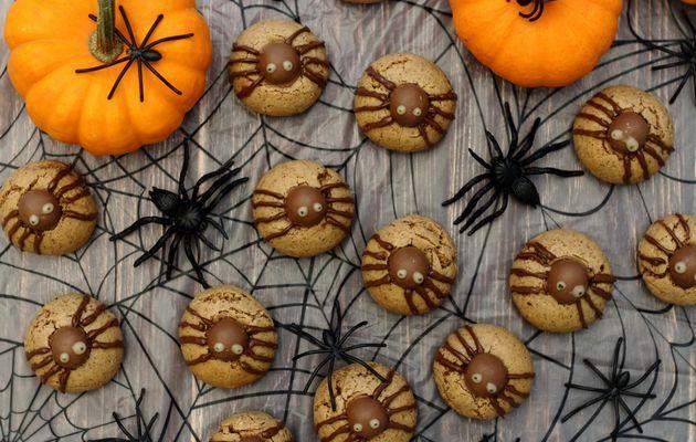 Cookie araignée pour Halloween