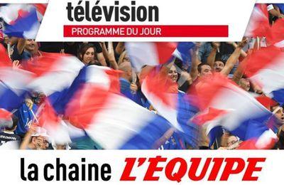 [Infos TV] Vos Rendez-Vous TV du mercredi 29 avril sur la chaîne l'Equipe !
