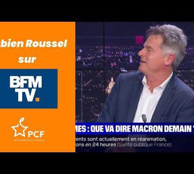 Fabien Roussel - BFM Story - 21/10/21