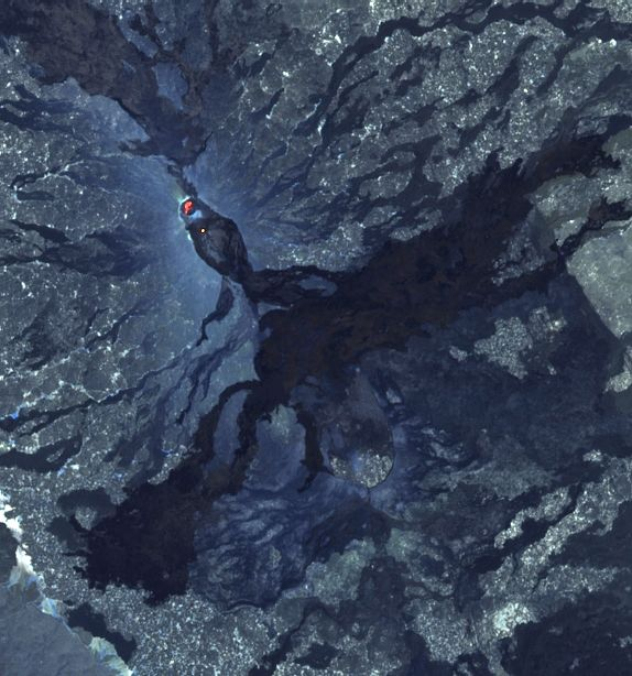 Erta Ale - Sentinel-2 bands images 12,11,8A from 10.15.2021 / 07:39 am - via Mounts Project