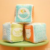 Sew Can Do: Simple Sewing: Flannel Soft Blocks Tutorial
