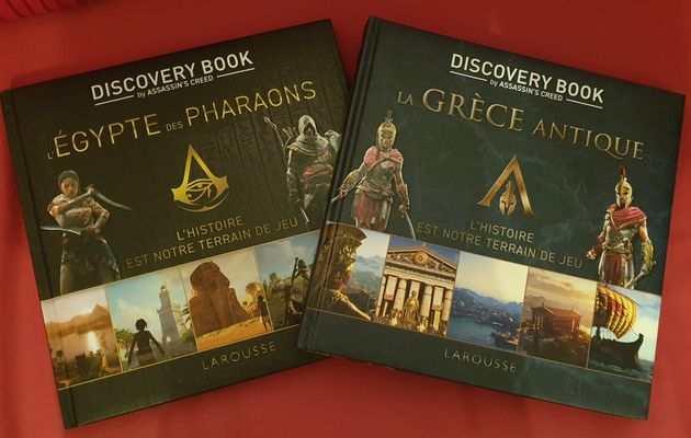 [REVUE LIVRES GAMING / HISTOIRE] LES DISCOVERY BOOKs by ASSASSIN'S CREED aux éditions LAROUSSE