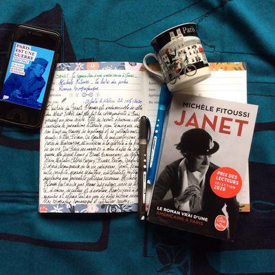 """""""Janet"""", de Michèle Fitoussi ; """"le roman vrai d'une américaine à Paris"""""""