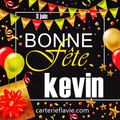 En ce 3 juin, nous souhaitons une bonne fête à Kevin 🙂