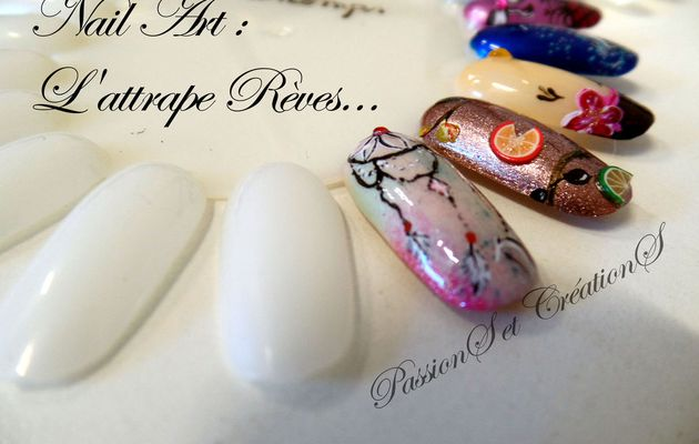 !Youtube! Nail Art - Attrape Rêves