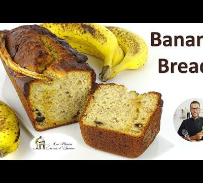 🍌 BANANA BREAD 🍌 simple et rapide