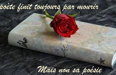 La mort du poète