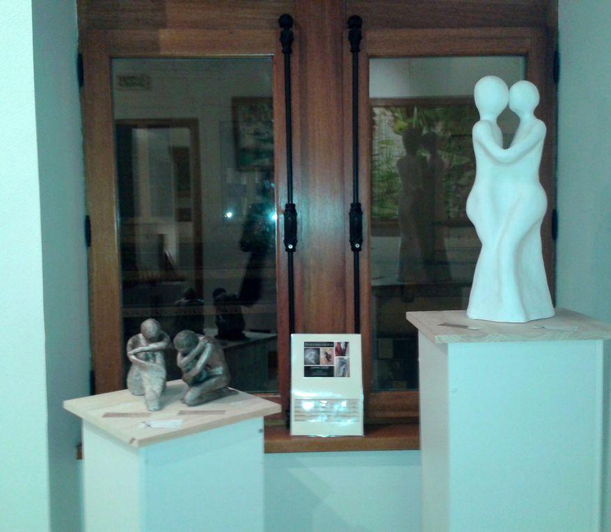 J'y suis invitée d'honneur en sculpture et Marianne Godard en peinture du 19/01/2016 au 07/02/2016. Nous sommes entourées de 19 artistes-peintres et 5 sculpteurs.