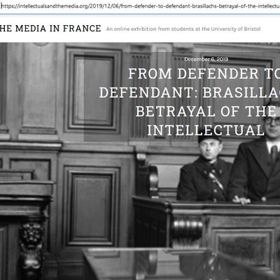 """""""From defender to defendant"""""""