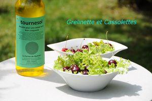 Salade de la Ferme de Quinsan, recette de Daniel Schelstraete