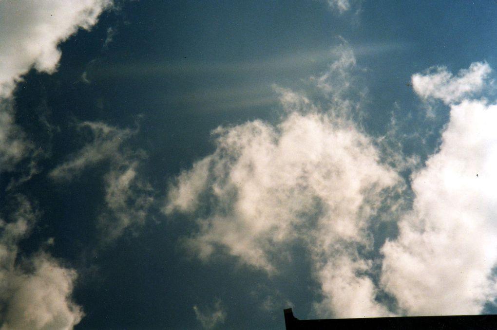 photos avec dans les nuages et dans les arbres des personnes qui se montrent à nous pour nous faire voir qu'ils ne sont pas mort, et qu'ils vivent sur un autre plan.....