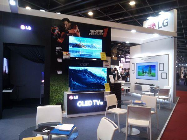 LG Electronics @ Foire de Paris 2018 (Super UHD 4K Nano Cell Dispaly et OLED TV)
