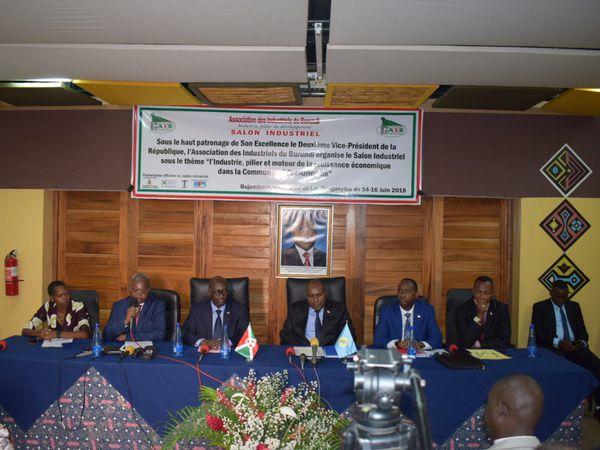 En direct du Salon Industriel du Burundi ... images en continue