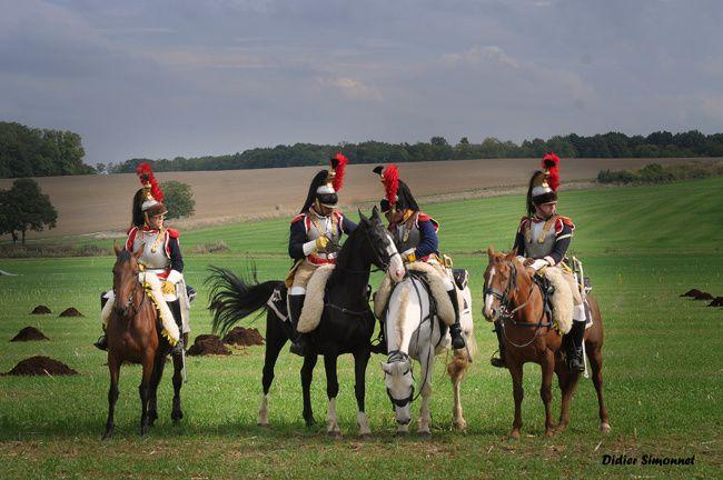 Reconstitution historique organisée par l'association : Les Grognards de la Marne à Saint-Jean-les-deux-Jumeaux le 29 septembre 2013