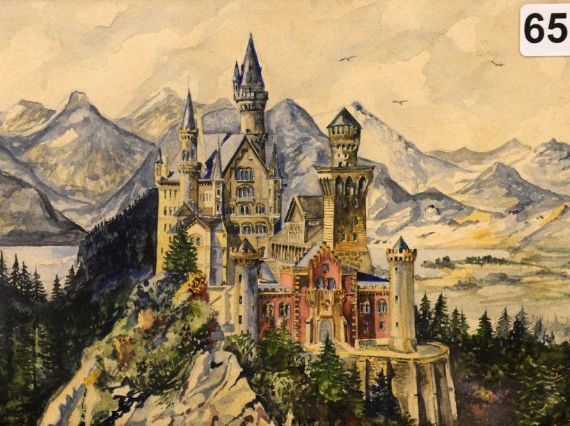 Des oeuvres d'Hitler vendues 400.000 euros : un peintre médiocre qui plait aux fétichistes