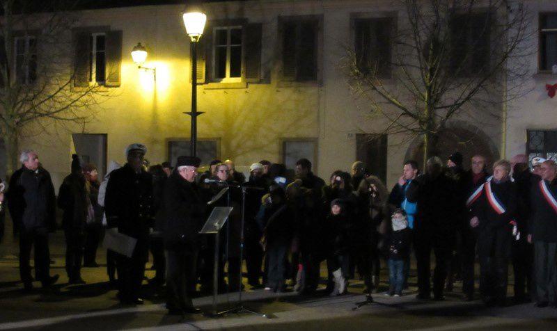 Cérémonie du 70ème anniversaire de la Libération de Neuf-Brisach