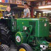 """Proverville : le tracteur Vierzon 302, star de l'émission Vintage mecanic, """" est rentré au bercail ! """""""