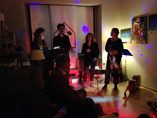 🎵 Music Delivery + Giftsongs @ Soirées cerises home concert (Auderghem) - 10/10/2021