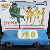 SUNBEAM ALPINE 5 1962 JAMES BOND 007 DOCTEUR NO CADEAU STATION SHELL - car-collector.net