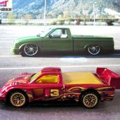TOYOTA TACOMA PIKES PEAK HOT WHEELS 1/64. - car-collector.net: collection voitures miniatures