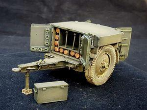Caisson à munitions de 155mm sur pneus (1935/45). 1/35. Des-kit. #caissonàmunitions #caissonamunitions #munitionsde155 #Des-kit