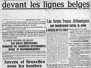 10-11 mai 1940 : Comment Fantasio a permis la chute du fort d'Eben-Emael