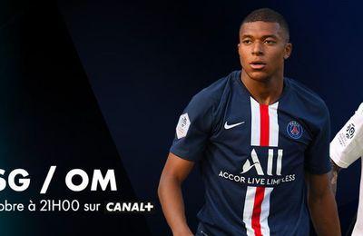 [Foot] Paris SG / Marseille (Ligue 1) ce dimanche sur Canal Plus !