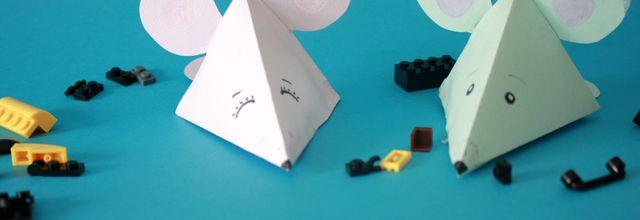 """Fabriquer des petites boîtes """"souris"""" :DIY +imprimable"""