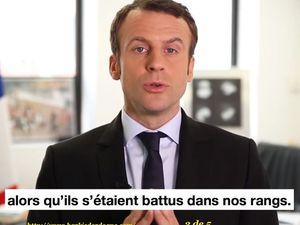 Colonisation : Avoir le courage de dire les choses.  Emannuel Macron 16/02/2017