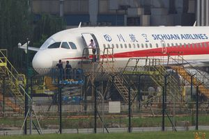 四川航空機事故	   Flight 8633 of Sichuan Airlines