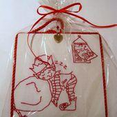 Happiness is Cross Stitching : Christmas stitcheries tutorial
