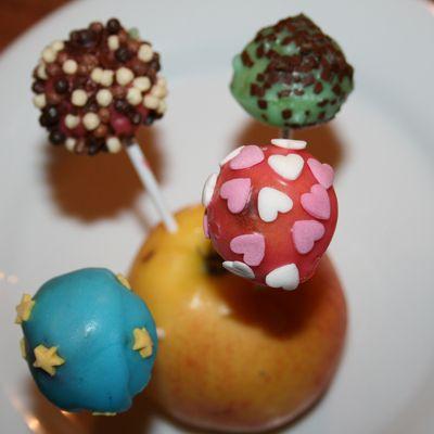 photos de cakepop's