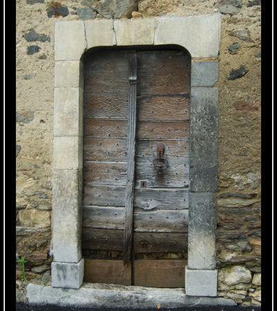 De bien belles portes....