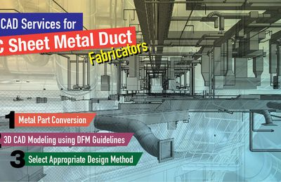 3 Important CAD Services for HVAC Sheet Metal Duct Fabricators