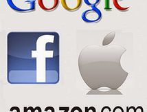 GOOGLE, APPLE, FACEBOOK, AMAZON (GAFA), RÉUNIS, VALENT L'INDICE CAC 40 : 1 650 MILLIARDS DE DOLLARS