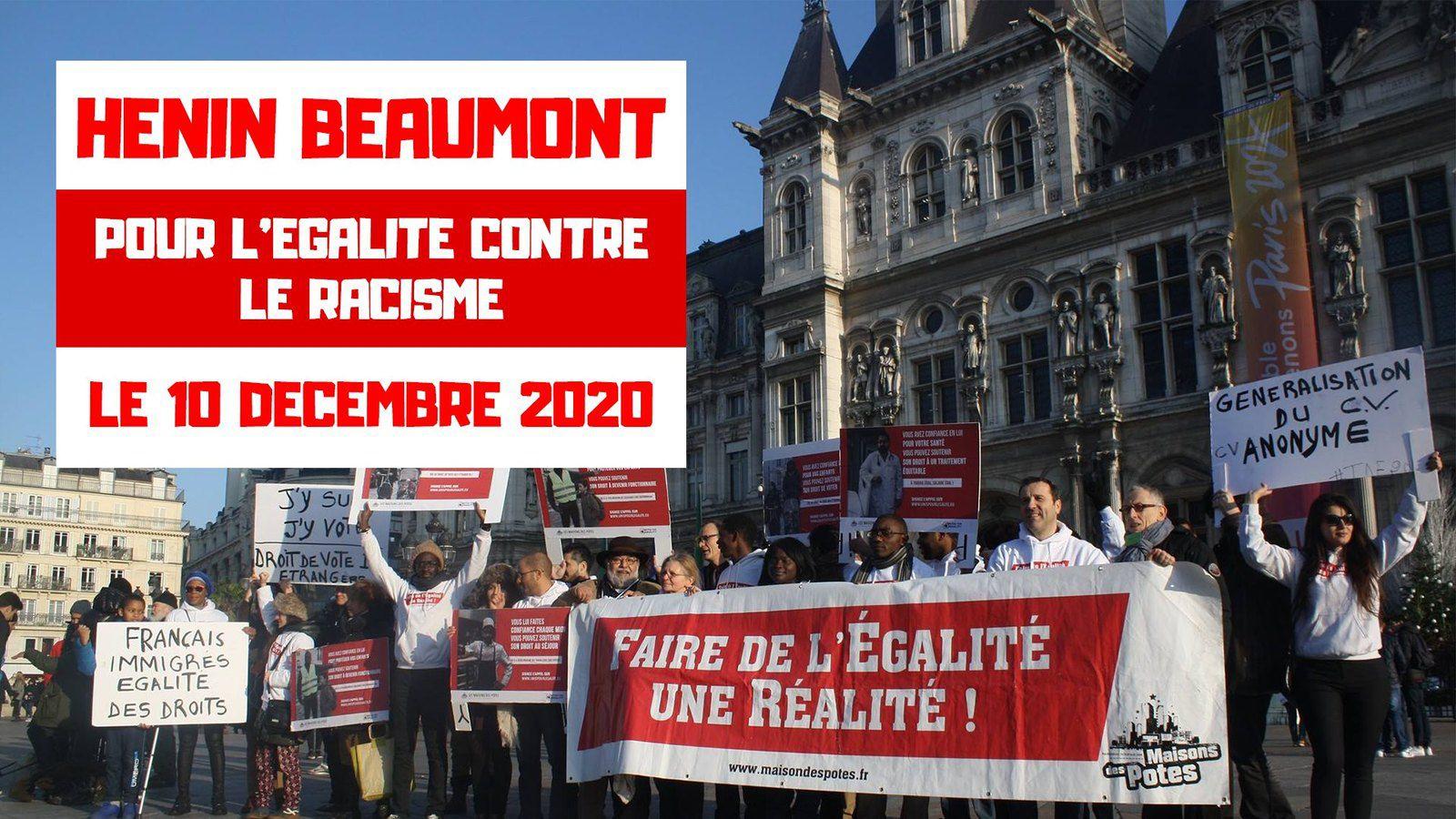 Hénin-Beaumont pour l'égalité contre le racisme