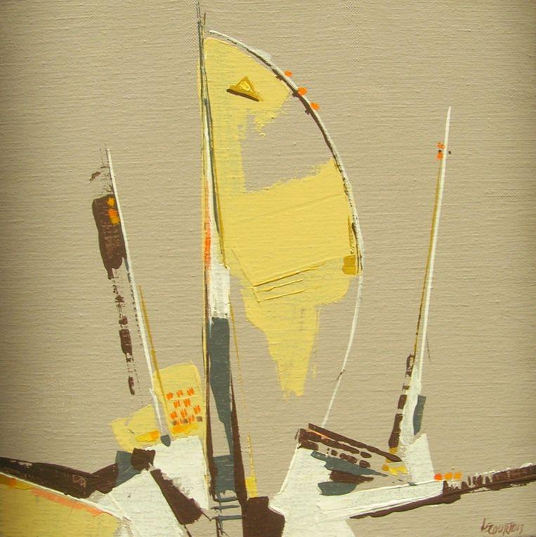 Nouvelle série réalisée à l'acrylique sur toile
